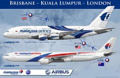 Malaysia Airlines Airbus aA380-800