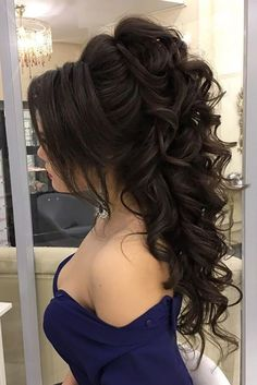 wedding hairstyle trends half up half down for long hair
