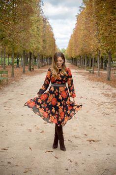 Идея для шоппинга: «цветочное» миди-платье 2