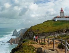 Cabo da Roca (Cape Roca), the westernmost point in continental Europe
