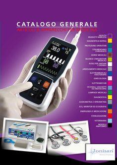 """Catalogo """"Articoli e Apparecchi per Medicina""""   www.jonisan.com  #Jonisan #Cataloghi #ArticolieApparecchiPerMedicina #acquistionline"""
