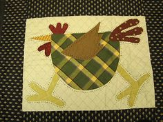 can't have enough chicken quilt blocks!