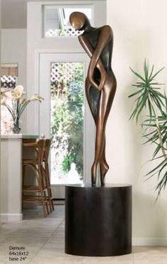 Resultado de imagen para esculturas para interiores