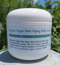 Antiaging body cream  Lotus  with Lotus plant by lovemyskinsoaps, $26.00