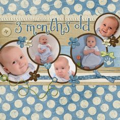 New Ideas baby born pictures faces – Scrapbooking Baby Boy Scrapbook, Scrapbook Bebe, Baby Scrapbook Pages, Scrapbook Sketches, Scrapbook Page Layouts, Scrapbook Paper Crafts, Birthday Scrapbook Layouts, Baby Born, Scrapbooking Digital