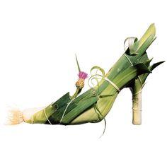 Leek Shoe by Stine Heilmann