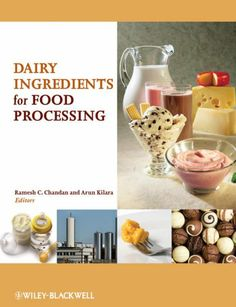 The objective of this book is to provide a single reference source for those working with dairy-based ingredients, offering a comprehensive and practical account of the various dairy ingredients commonly used in food processing operations.
