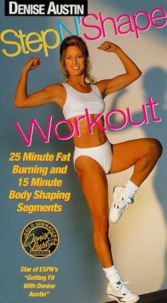 Shop Denise Austin: Step N' Shape Workout [DVD] at Best Buy. Find low everyday prices and buy online for delivery or in-store pick-up. Denise Austin, Step Workout, Vhs To Dvd, Amazon Associates, Aerobics, Fat Burning, Cool Things To Buy, Shapes, Fitness