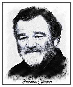 Brendan Gleeson Brendan Gleeson, Yesterday And Today, Hollywood Actor, Irish, Celebs, Illustrations, Actors, People, Celebrities