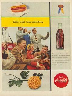 If you were born in 1953, Coke still came in the small bottles - no King Size Cokes around yet!
