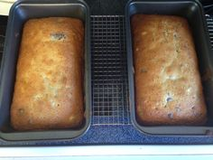 The Banana Bread (with chocolate chips) Chocolate Chips, Banana Bread, Desserts, Blog, Recipes, Tailgate Desserts, Deserts, Postres, Dessert