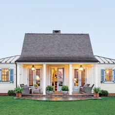 The Art of Living Small: Genteel Cottage Exterior