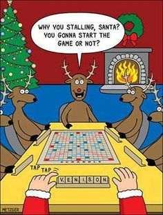 Little do we know that the reindeer are replaced every year, but just have the same names!