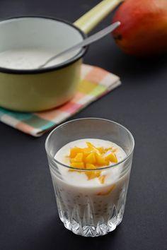 Chic, chic, chocolat...: Perles du Japon Tipiak au lait de coco et mangues - une #recette sucrée pour un délicieux dessert par @carine03