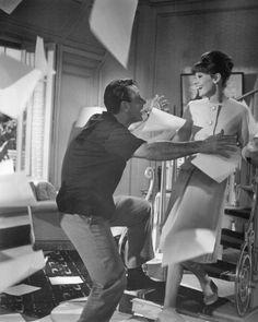Audrey Hepburn and William Holden in Paris When It Sizzles, 1964