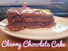 Cherry Chocolate Cake from Miss Mamo's World