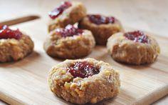 Chickpea Thumbprint Cookies