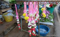 How To Make a Thai Flower Garland (phuang Malai or uba)
