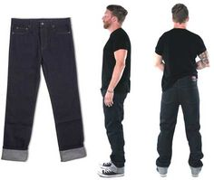 NEW - Indigo Greaser Jean by Lip Service