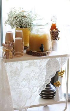 Bee Loved Baby Shower | CatchMyParty.com