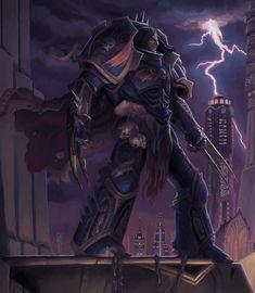 Jeff Porter Illustration: Primarch of 8th Legion