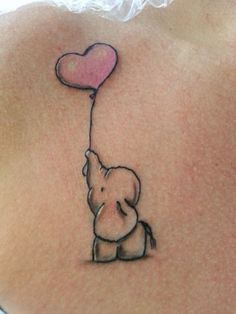 Get it with first letter in the ballon for my children's names and a monkey instead of an elephant