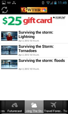 Weather alerts around KHQ Android app users Weather Apps