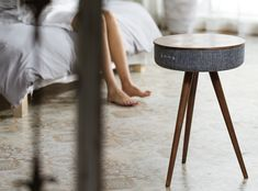 The only speaker table you ever want. Bluetooth speaker+ powerbank + table = Mellow