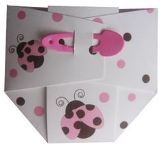 Cute Diaper Invite  the safety pin makes it perfect.
