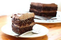 Barefeet In The Kitchen: Unforgettable Chocolate Quinoa Cake