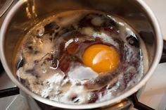Sugar shack shock: Eggs in maple syrup