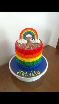 Rainbow cake by Leonie Smith