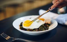 Recipe: Crispy Brussels Sprouts with Kale Pesto and Fried Eggs