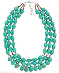Drops of the Ocean Necklace, Necklaces - Silpada Designs www.mysilpada.com/tabby.carlsen