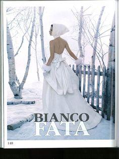 Vogue Sposa - settembre 2013 >> bianco fata di #ElisabettaPolignano