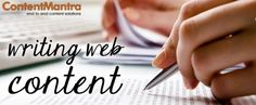 ContentMantra provides well written, unique and high quality #websitecontentwritingservices for your businesses to suit your specific requirements and enhance your brand's visibility that appeals to your target audiences.