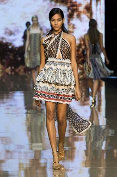 Designer: Just Cavalli  Collection: Spring Summer 2015  Location: Milan Fashion Week