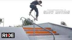 Tre Williams – Skateboarding in Slow Motion – RIDE Channel: Source: RIDE Channel