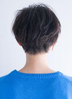 大人ひし形ミニマムショート(髪型ベリーショート)