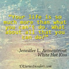 ~ Jennifer L. Armentrout, White Hot Kiss  via YASeriesInsiders.com Book Tv, Book Nerd, Favorite Book Quotes, Best Quotes, Daughter Of Smoke And Bone, Kissing Quotes, Uplifting Thoughts, Sad Life, Reading Quotes