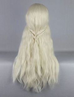 Wig Detail Game Of Thrones Daenerys Targaryen Wig Includes: Wig, Hair Net Length - 75CM Important Information: Fitting - Maximum circumference of 55-60CM Material - Heat Resistant Fiber Style - Comes