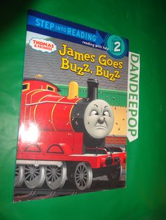 Thomas And Friends James Goes Buzz Step 2 First Edition Book 2004 Find Me