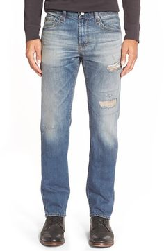 AG 'Matchbox' Slim Fit Jeans (20 Years Badlands Reserved) available at #Nordstrom