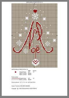 ideas embroidery patterns free christmas for 2019 Santa Cross Stitch, Cross Stitch Tree, Beaded Cross Stitch, Cross Stitch Samplers, Cross Stitch Charts, Cross Stitch Designs, Cross Stitching, Cross Stitch Embroidery, Embroidery Patterns