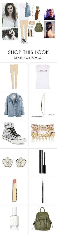 """""""Private Percy Jackson rp"""" by gglloyd ❤ liked on Polyvore featuring 7 For All Mankind, good hYOUman, Converse, River Island, Shaun Leane, Chanel, Barry M, Essie and Topshop"""
