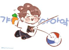 My heart omg so cute Jungkook Fanart, Vkook Fanart, Bts Bangtan Boy, Kpop, Taehyung, Cartoon Fan, Bts Drawings, Bts Chibi, Bts Fans