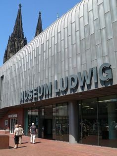 Museum Ludwig - in Cologne Germany  - one of the world's largest Picasso collections.