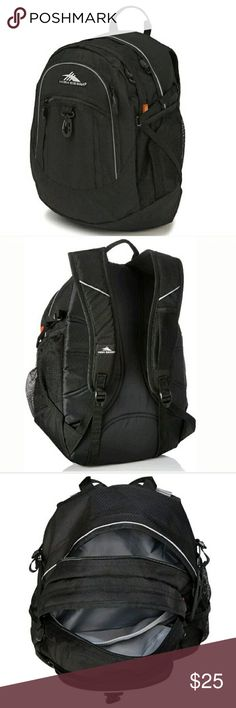 High Sierra Backpack New High Sierra Fat Boy Backpack, Black  Fabric/Polyester Imported Large, multi-compartment design TECH SPOT tablet computer sleeve (12.5 x 11 x 0.75 in.) Adjustable side compression straps Premium organizer with multiple pockets and key fob Front, zippered accessory pocket  High Sierra designs feature-rich, versatile adventure lifestyle gear for adventurers everywhere. We've committed ourselves to creating durable, affordable product with distinctive details, delivering…