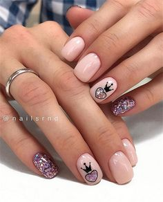 The Stunning Summer Nail Art Designs For Short Nails - Nail Art Connect#shortnails#cutenails