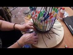 Способы и виды плетения из газетных трубочек